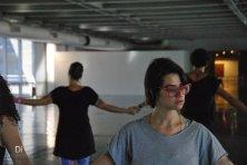 Mini residência + performance pública no MAM, Rio de Janeiro, Brasil Fotografia: Angela Lopes